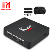 KM8 Pro Smart TV Box Android 6 0 TV Box Amlogic S912 Octa Core CPU Supporting