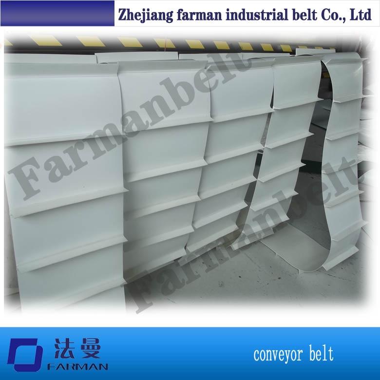 Farman : PVC conveyor belt Safety belt farman pvc conveyor belt thickness 1 5mm color green