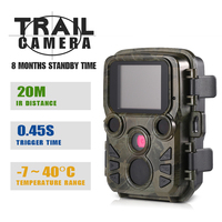 12MP 1080P Mini H501 photo traps Thermal imaging cameras for Hunting Hunting trail Camera Outdoor Wildlife Scouting Camera