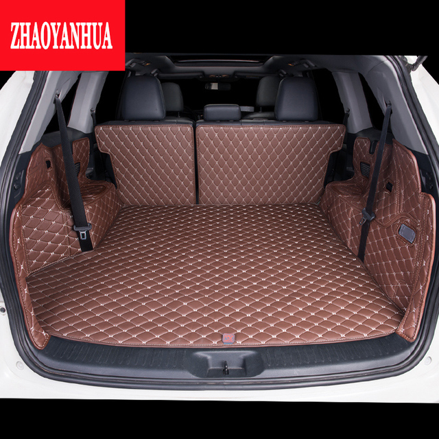 Custom Fit Car Trunk Mat For Toyota Highlander 7 Seat Styling Made Carpet Cargo Liner