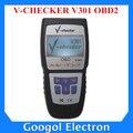 V-CHECKER V301 OBD2 CANBUS Profesional DEL Lector de Código Auto Universal Escáner de Diagnóstico OBD2 V-CHECKER
