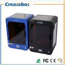 Neue 3d-drucker Große Bauvolumen Createbot MAX 3D Drucker mit Dual Extruder, Touchscreen und Heatbed Verschiedene Filamente