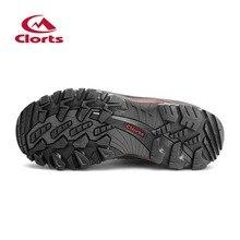 Clorts Men Hiking Boots Waterproof Uneebtex Outdoor Climbing Shoes HKM-823A/D