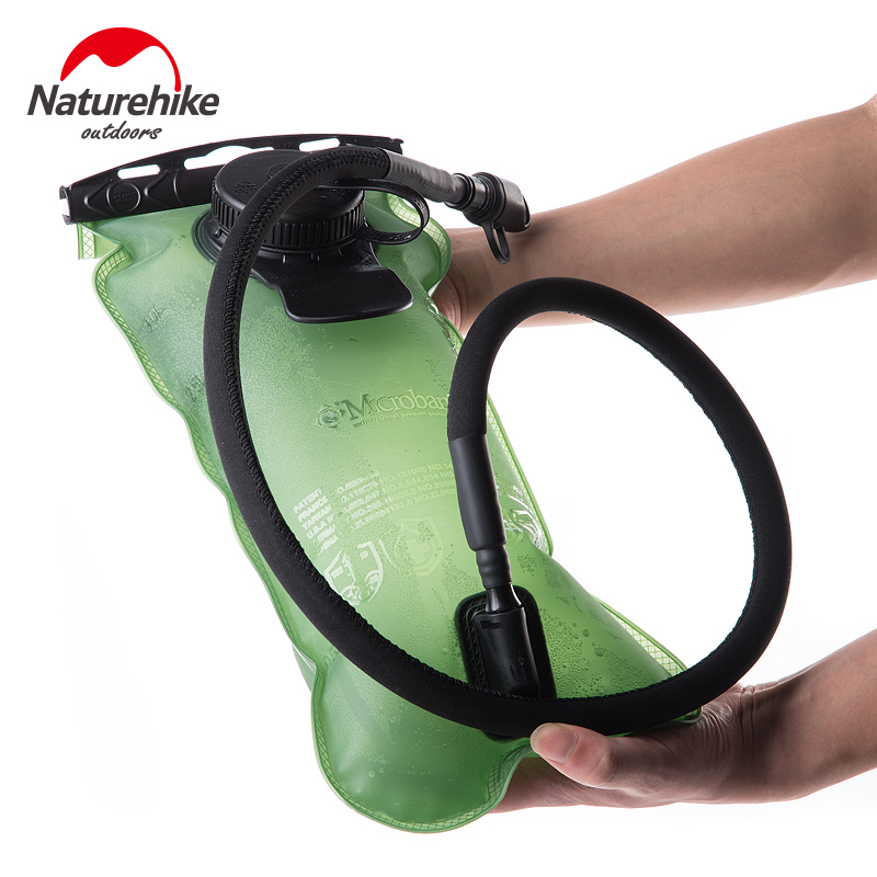 NatureHike 3L PEVA Bladder Hydration Bicycle Camping Hiking Climbing Outdoor Camelback Water Bag Green Outdoor naturehike hot brand 3l peva bladder hydration bicycle camping hiking climbing outdoor camelback water bag green nh30y030 d