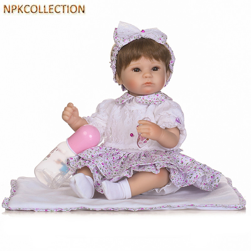 NPKCOLLECTION Real Dolls Reborn Baby Alive Bonecas 14 Inch Realistic Silicone Real Touch Newborn Babies Toy for Kids Xmas Gift npkcollection 52cm full body silicone reborn dolls babies alive bonecas newborn girl baby doll toys for kids christmas xmas gift