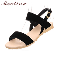 Large Size 40 43 Ladies Sandals Beach Wedge Sandals Mixed Color Women Fashion Comfort Black Shoes