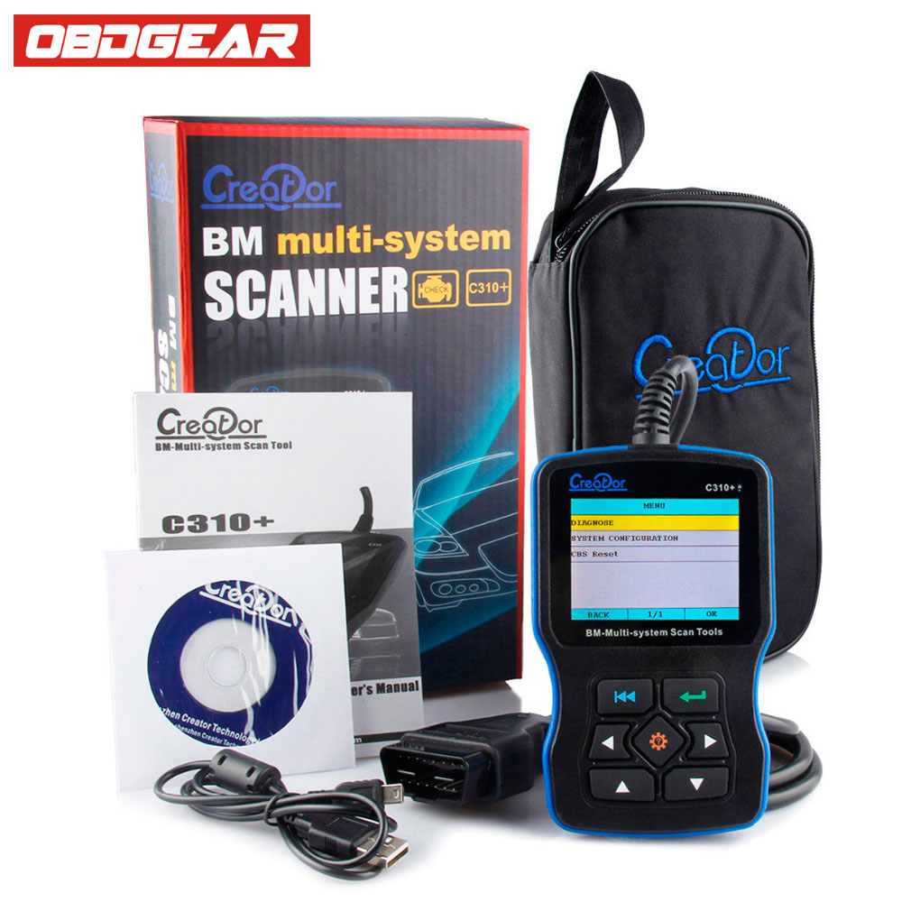 V7.0 OBD OBD2 Diagnostic Scanner Creator C310+ Multi Systems Diagnostic Tool Free Online Updat For BMW E46 E90 E39 Code Reader