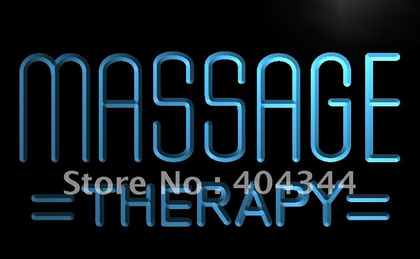 LB364- Massage Therapy Body Shop Display NEW Light Sign    home decor shop crafts
