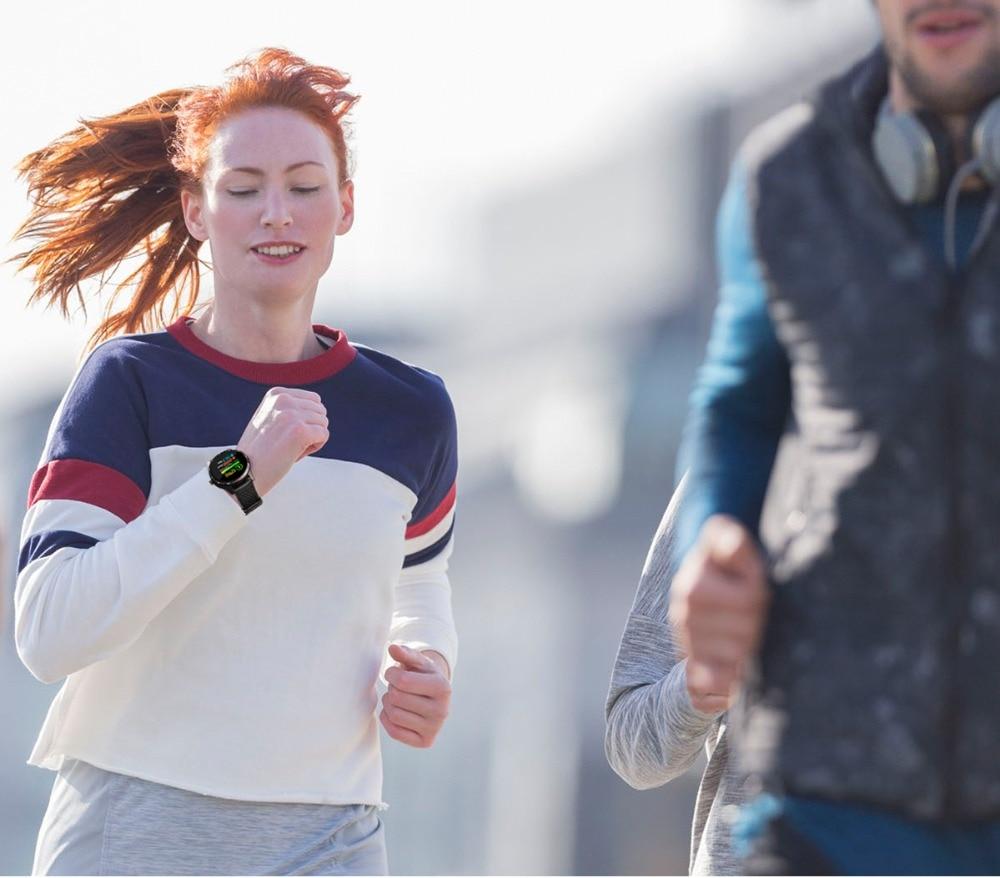 DIGOOR Smart Watch women IP67 waterproof Support Blood pressure  Women Cycle monitoring GPS tracker Heart rate Fitness bracelet Smartwatch (4)