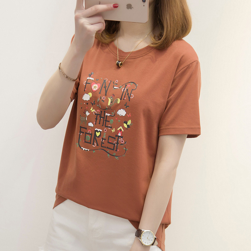 DZ Print Women tshirt Casual Funny t shirt For Lady Top Tee Hipster R816
