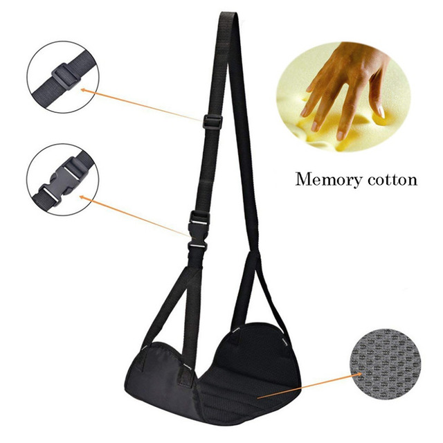 Foot Rest Portable Travel Footrest Flight Carry-on Foot Rest Office Bus Airplane Feet Rest Feet Hammock Travel Accessories