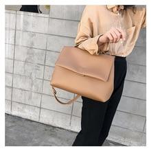 2019 New Women Fashion Handbags Ladies Causal Tote Bags Large Capacity Women Leather Handbags Retro Daily Shoulder Bags недорого