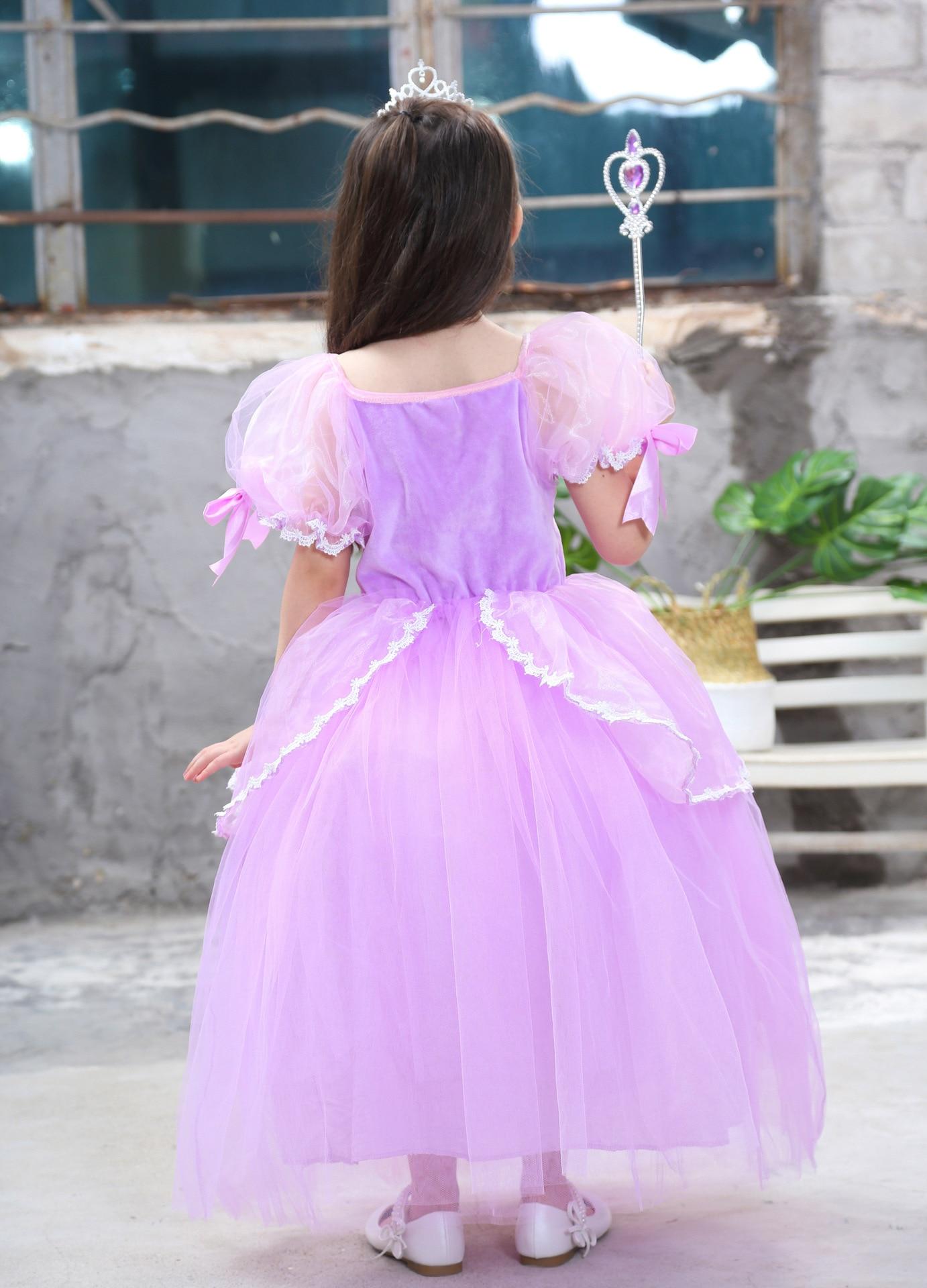 Asombroso Vestido De Partido De La Princesa Sofia Imagen - Colección ...