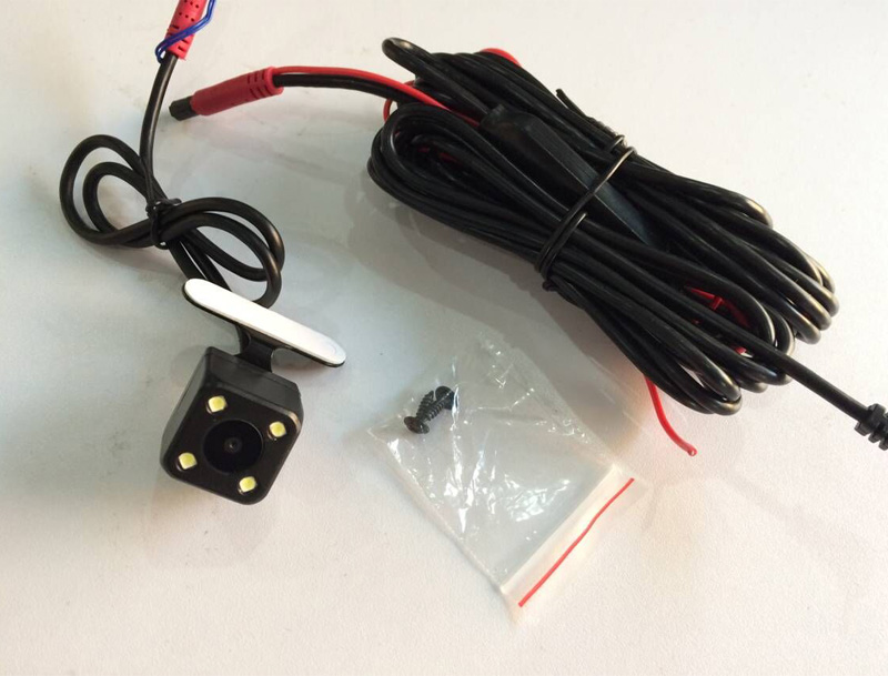 Digital signal Rear camera with 6 meters cable kits special for Phisung Android GPS dual lens Mirror car camera