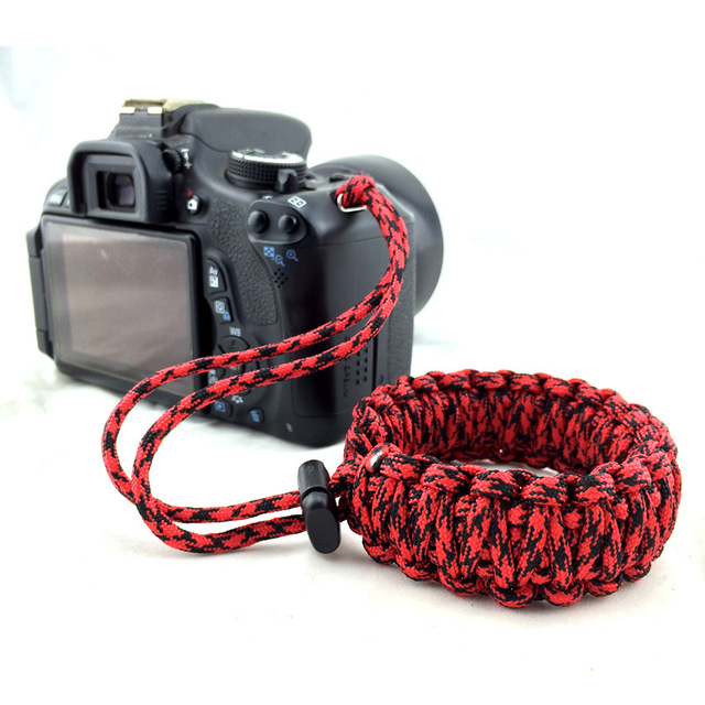Newest Digital Camera Strap Camera Wrist Strap Hand Grip Paracord Braided Wristband for Nikon Canon Sony Pentax Panasonic DSLR