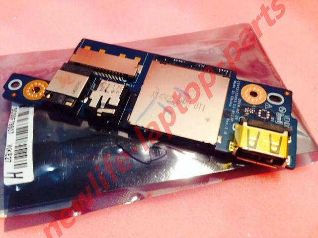 Original Y50 Y50-70 Y50-80 Audio USB Ranura SD Junta ZIVY2 ZIVY3 LS-B113P prueba de buen envío libre