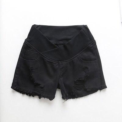 para grávidas shorts de gravidez calças soltas