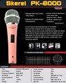 Top Quality PK6000 Professional Condenser Sound Studio Recording Wired Microphone DJ KTV Internet Karaoke Computer Recording Mic