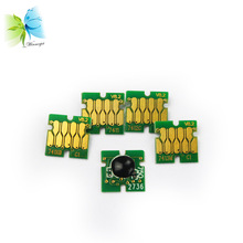 Winnerjet T7411-T7414 BK C M Y compatible chip for Epson SureColor SC-F6000 F7000 F6070 F7070 printer ink cartridge цены