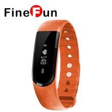 Finefun ID101 Smart запястье Браслет фитнес трекер монитор сердечного ритма SmartBand браслет для Andriod IOS PK mi Группа 2