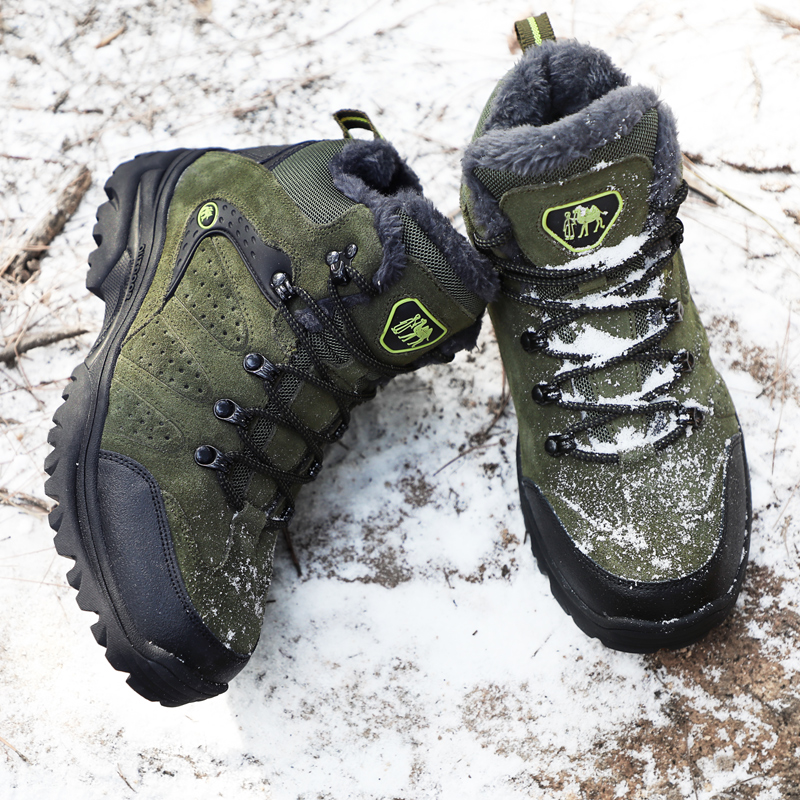 Botas de senderismo impermeables profesionales botas tácticas para escalar montañas al aire libre zapatillas deportivas botas para cazar