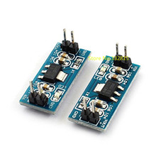 Free shipping 50pcs New AMS1117 6.5V-12V Turn To 5V DC-DC Step down Power Supply Buck Module For Arduino Raspberry pi
