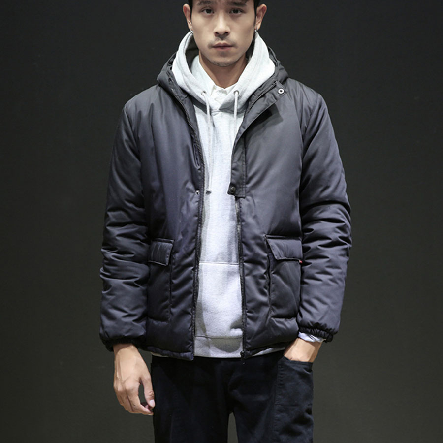 ffbd32ba1d Parka Hommes La Bulle Chaud Hiver Survêtement Jaket Plus Vêtements Black  Manteau Capuche Japonais Vestes Élégant ...