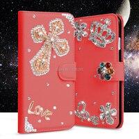 84 Style Lady Fashion Bling Skin For Samsung Galaxy A8 A8000 Flip Glitter Rhinestone Diamond Wallet