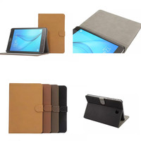 Luxury High Quality Retro Enland Business Style Flip Stand Case Cover For Samsung Galaxy Tab A