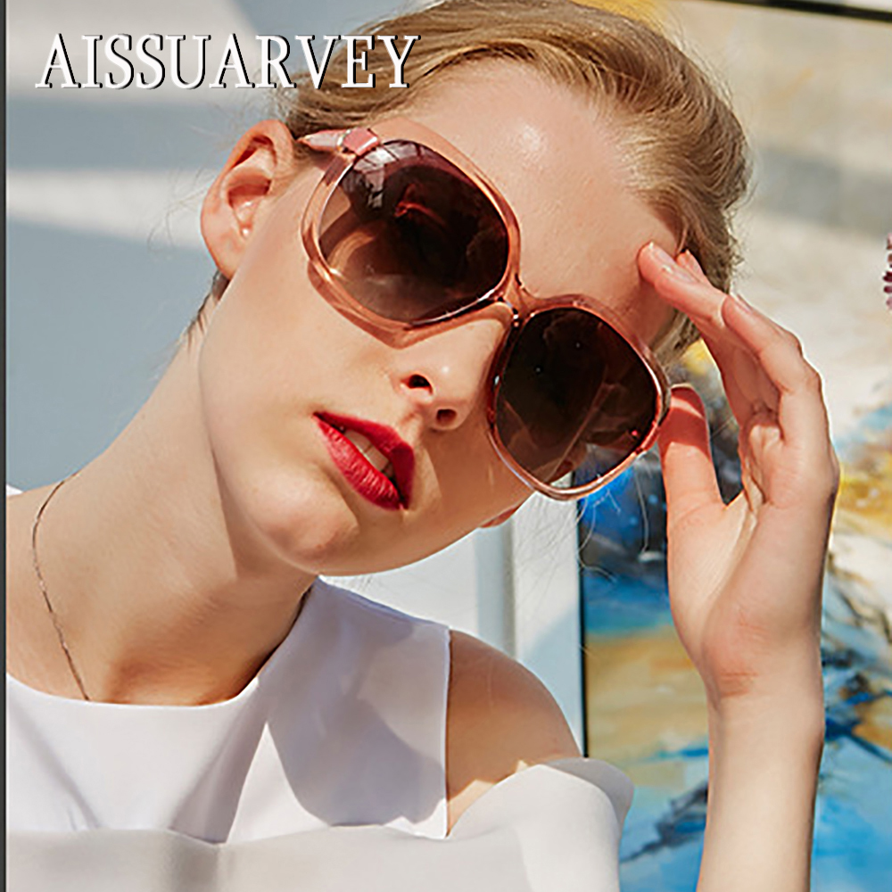 2019 New Oversize Acetate Fashion Polarized Sunglasses For Woman Top Quality Girls Lady Brand Square Goggles Driving Sun Glasses