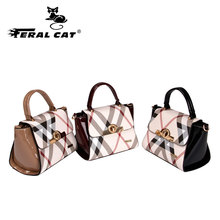 FERAL CAT Women bag Luxury handbags women bags designer	PVC Bolsas femininas bolsas de couro Bags handbags women famous brands