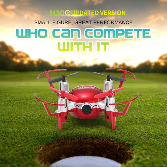 Newest JJRC H30CH Mini RC Quadcopter Drone with 720P Camera 2.4G 6Axis Headless Mode Hovering flight RTF RC Helicopter VS H30C
