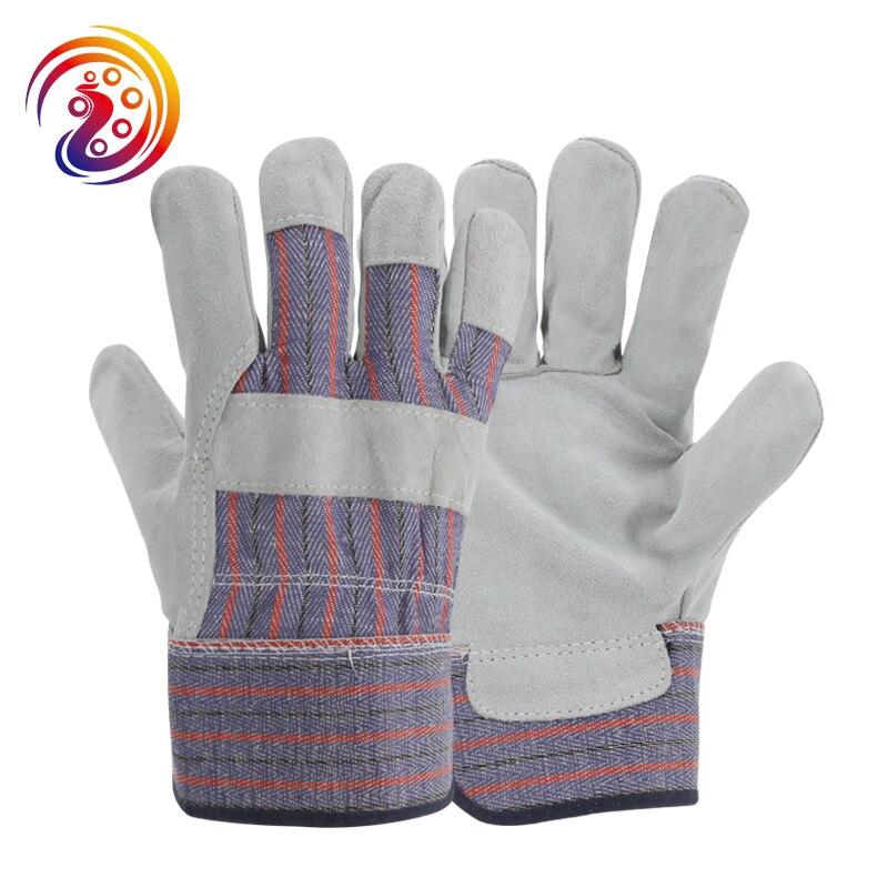 OLSON DEEPAK Cow Split Leather Work Gloves Driver Gardening Construction Industrial Gloves HY025 gurpreet kaur deepak grover and sumeet singh chlorhexidine chip