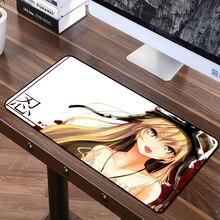 FFFAS 70*40 см мультипликационная мышь с героями мультфильмов, Красивая музыкальная девушка, HD картинка, Высококачественная записная книжка, компьютер, ПК, периферийные, бесплатная доставка