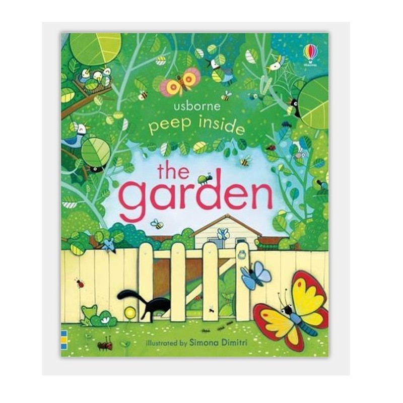 Peep Inside The Garden : 1 PCS Original English Educational Picture Books For Baby Early Childhood Best Gift For Children Libros