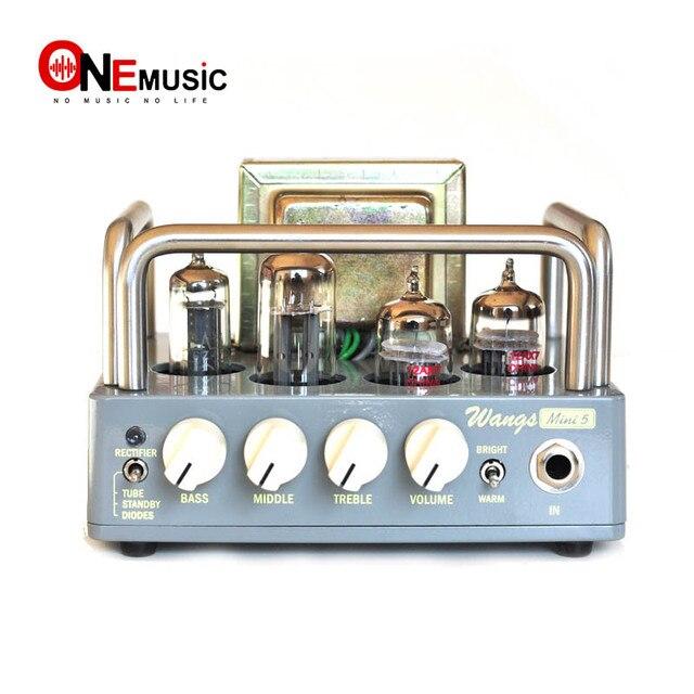 חשמלי כל צינור גיטרה מגבר ראש Biyang Wangs מיני 5 AMP ראש להתאים נפח טון