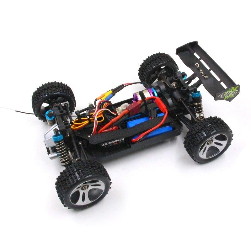 RC WLtoys 1 18 A949 A959 A969 A979 RTR brushless outrunner motor upgrade quicrun 30A ESC