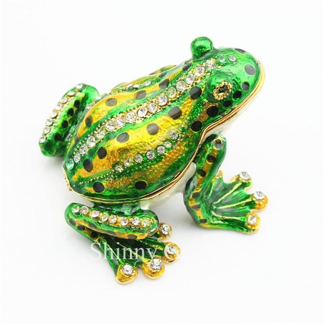 Aliexpresscom Buy Big Size Frog Trinket Box Animal Jewelry Box