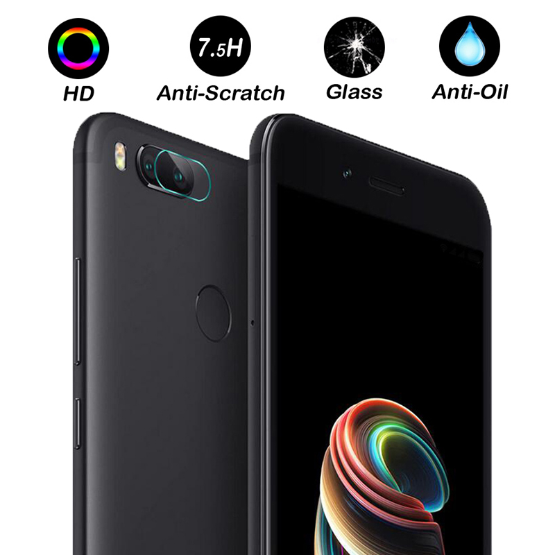 2 PCS Clear Camera Lens Protector Protection Film For xiaomi Mi 5x/xiaomi A1 Tempered Glass Back Cover For xiaomi Mi 5x Film ...