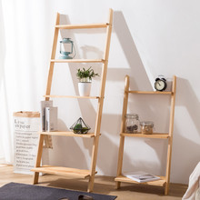Floor plant stand solid wood ladders books shelf wall organizer kitchen storage living room shelves for wall bathroom racks books for living