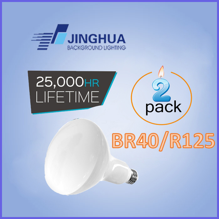 2020 new LED Light Bulb 9W,12W,15W, Par20 Br30 R95 Br40 R125 Par38 E27 LED Bulbs,Dimmable, Warm White,Cold White (Pack of 2)