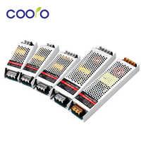 12 Volt Netzteil Ultra Dünne 12 V Led-treiber AC 190-240 V 60 W 100 W 150 W 200 W 300 W Beleuchtung Transformator Adapter für LED Streifen