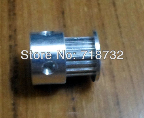 T2.5 timing belt pulley 20 teeth 10mm belt width 8mm shaft bore image