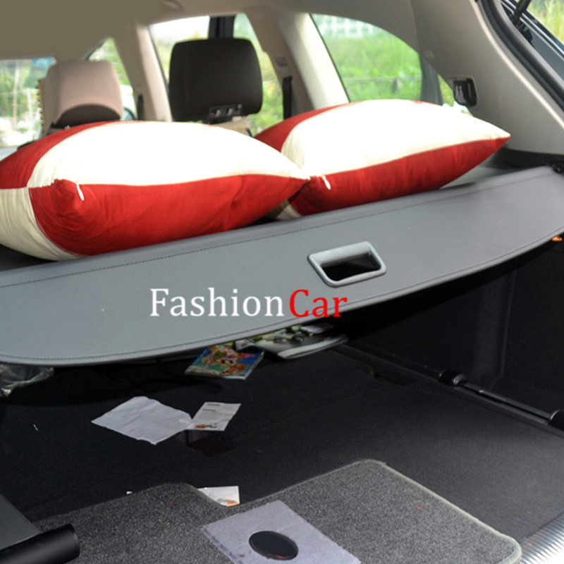 For Audi Q7 2007-2017 Black ! Car Rear Trunk Security Shield Cargo Cover 1 set black rear trunk cargo privacy cover shield parcel shelf cargo cover for mazda cx 5 2nd gen 2017 2018 car styling