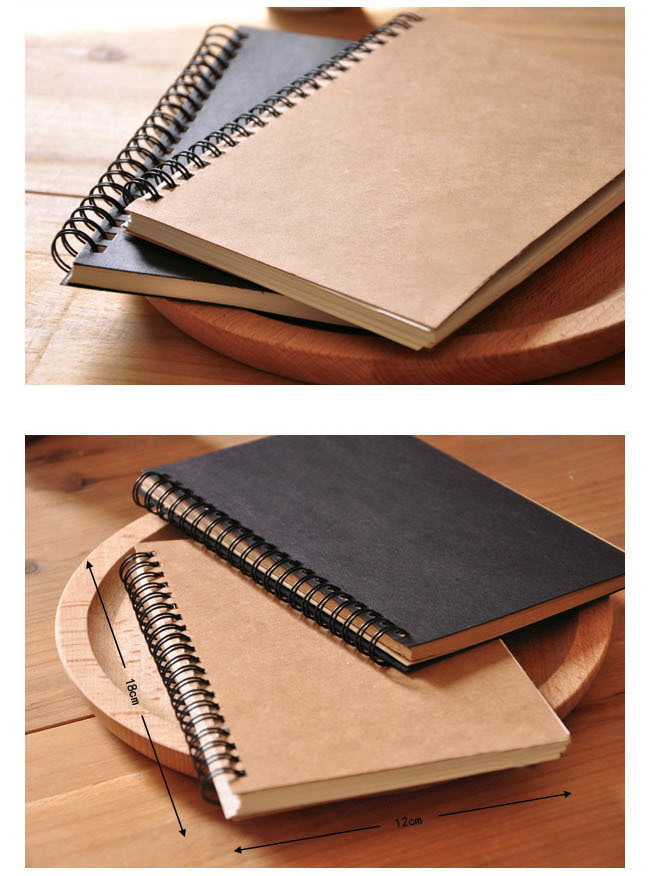 ⑤Sketchbook Diary for Drawing Painting Soft Cover Paper Sketch Memo