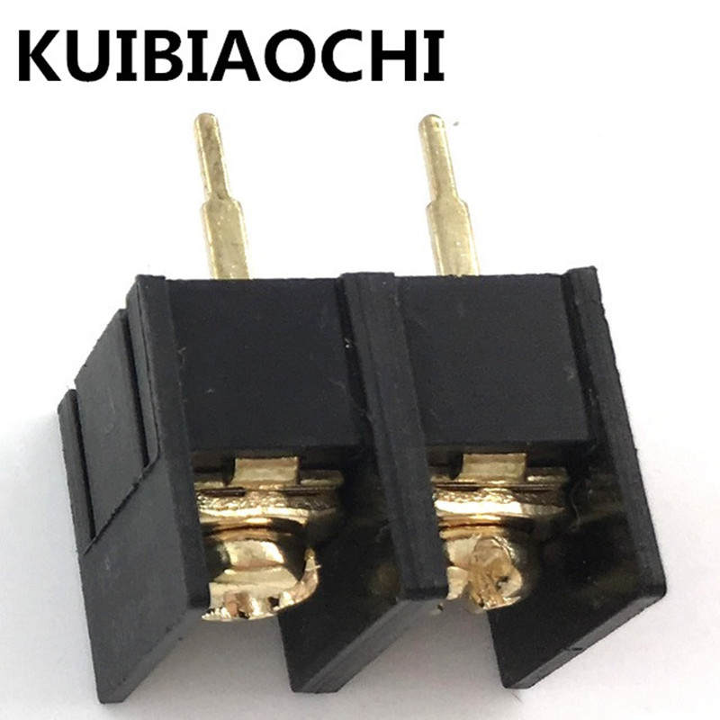 100pcs/lot KF/DG1000-2P 10MM 300V 25A 10mm pitch connector pcb screw terminal block connector 2pin KF1000-2P