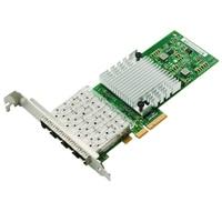 I350AM4 Chipset Quad Port Gigabit Fiber Server Adapter PCI E X8 NIC Card I350 F4