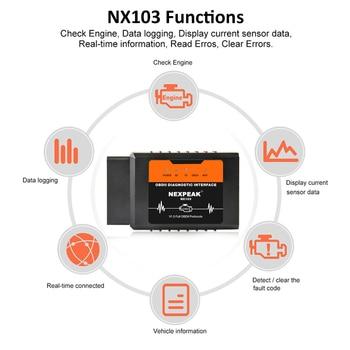 OBD2 ELM327 V1.5 WIFI IOS Adapter Scanner for iPhone Car Diagnostic Tool OBD 2 ODB II ELM 327 WIFI ODB2 Car Scanner EML327 WIFI 2