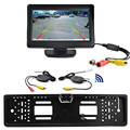 "Cls   4.3"" TFT LCD Monitor + Wireless Car Backup Camera Rear View System Night Vision Aug 12"