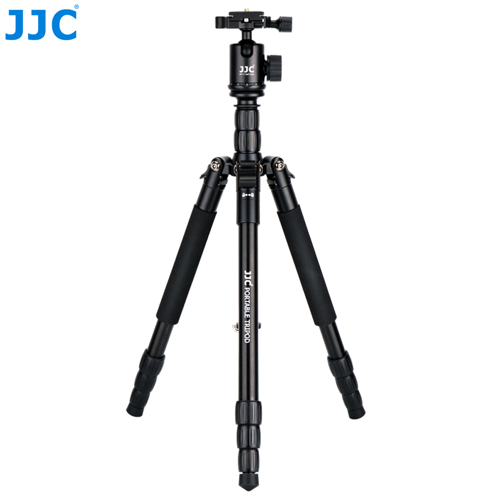 JJC Professional Camera holder mini Tripod DSLR Flexible Stand Ball Head Portable Monopod for Canon/Nikon/Sony/Fujifilm/Olympus-in Live Tripods from Consumer Electronics    1